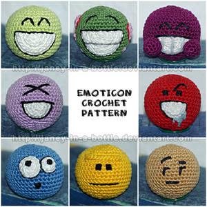 Emoticon Crochet Pattern