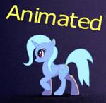 Trixie Pony walk Animated Gif