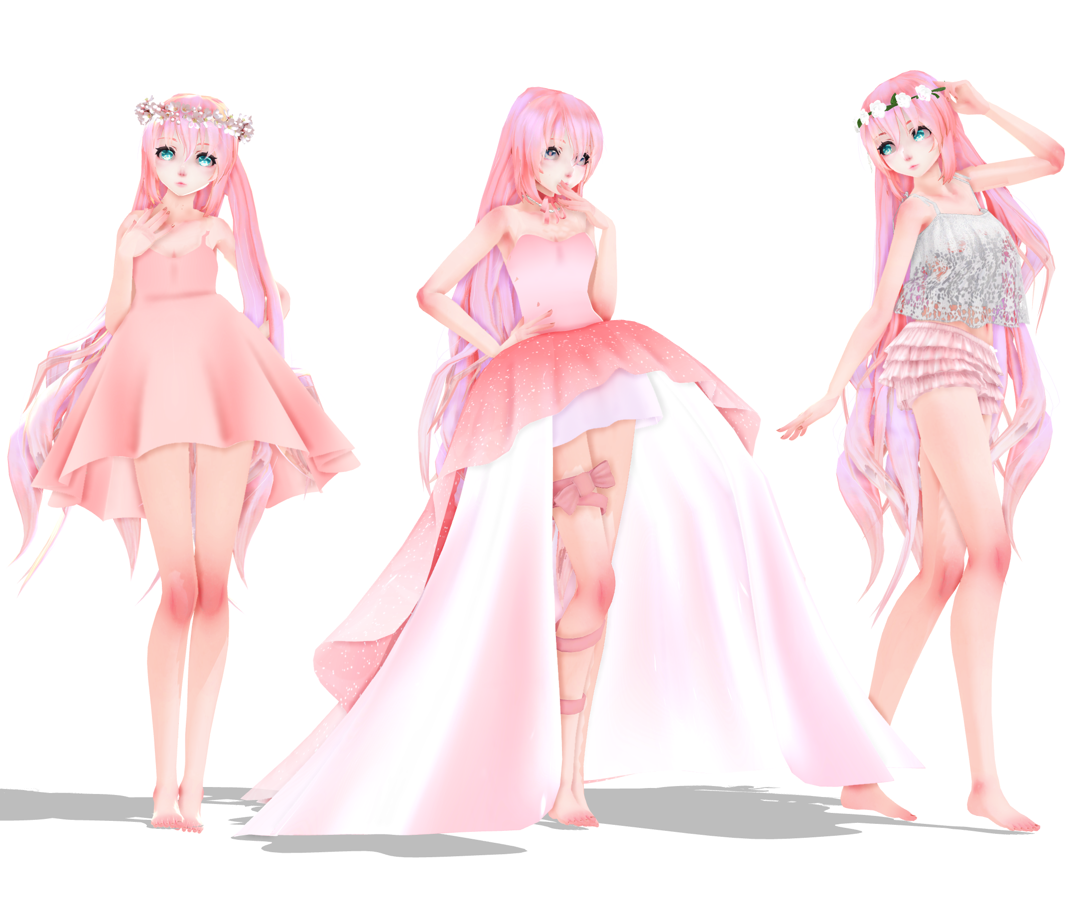 MMD Luka Pack DL [100 Watchers!!!] By JadeRockability On