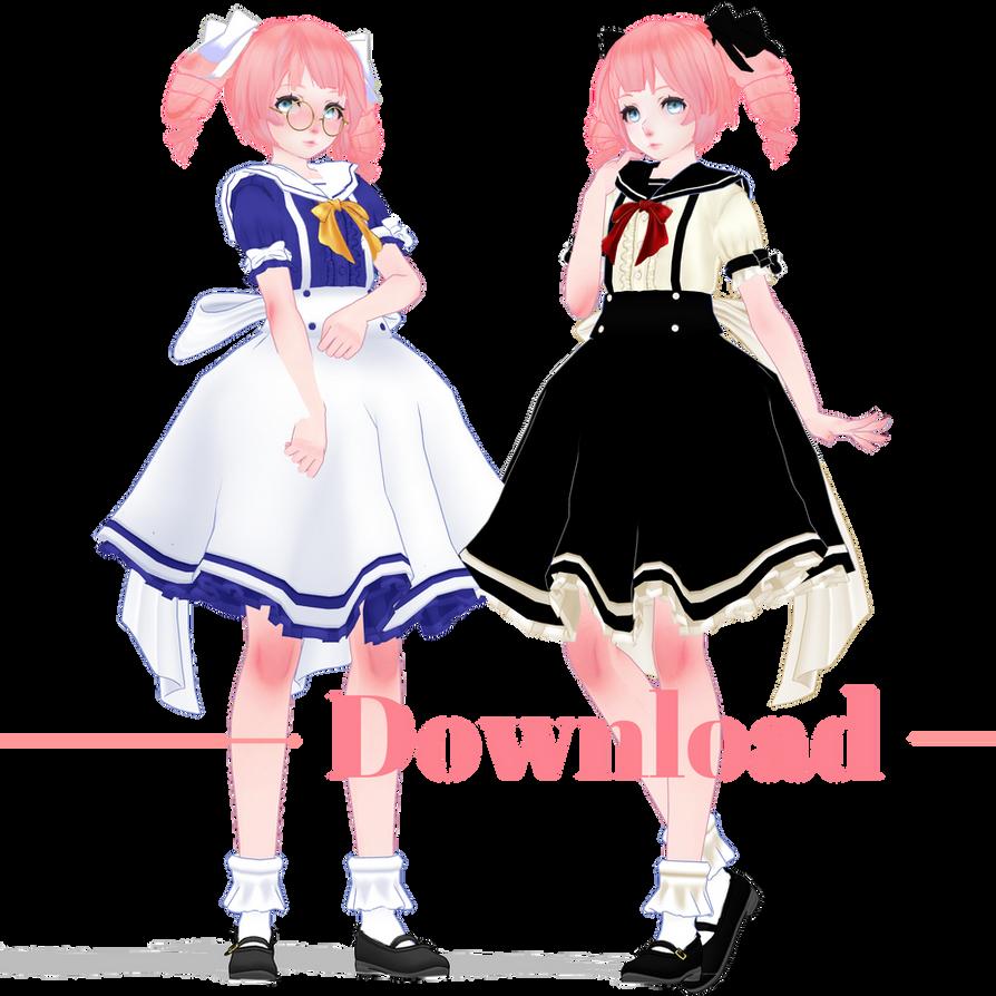 MMD Megurine Twins [+DL] by JadeRockability