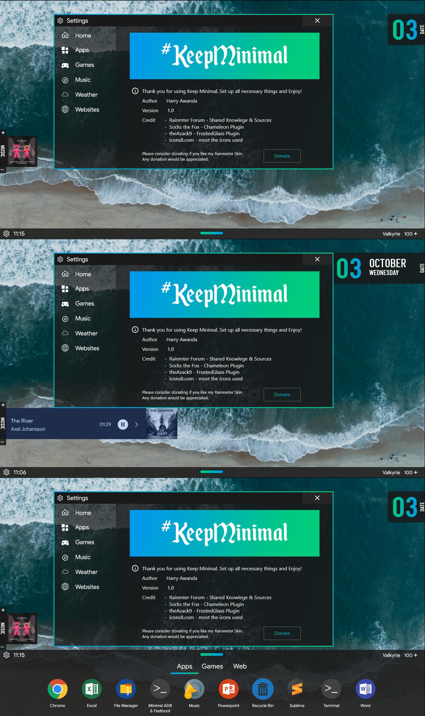 Keep Minimal 1.1