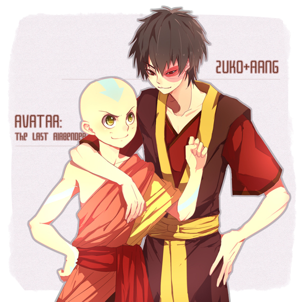 Aang X Male Future Avatar Reader X Zuko By Velvetblaid On