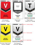 Company Visitor Badges