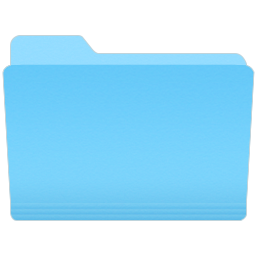 Yosemite Icon - Open Folder by Charly11