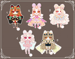[CLOSED] Adoptable 151 - PURRFUME SET PRICE by Puripurr
