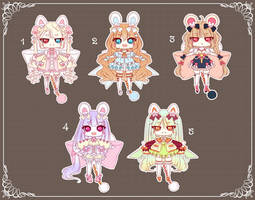 [CLOSED] Adoptable 157 - PURRFUME SET PRICE by Puripurr