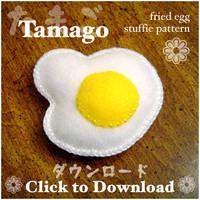 Egg Stuffie pattern by quexthemyuu