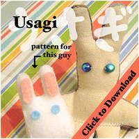 Little Bunny Stuffie pattern by quexthemyuu