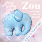 Elephant Stuffie Pattern