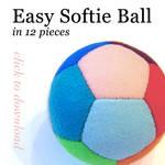 Easy Softie Ball Pattern