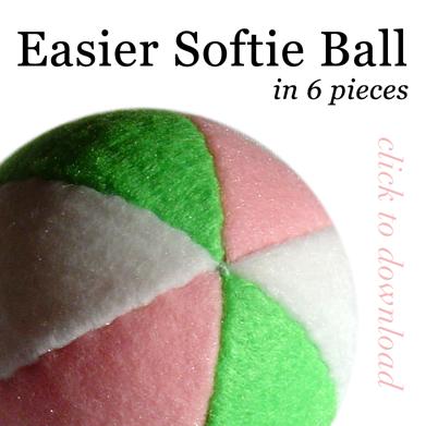EASIER Softie Ball Pattern by quexthemyuu