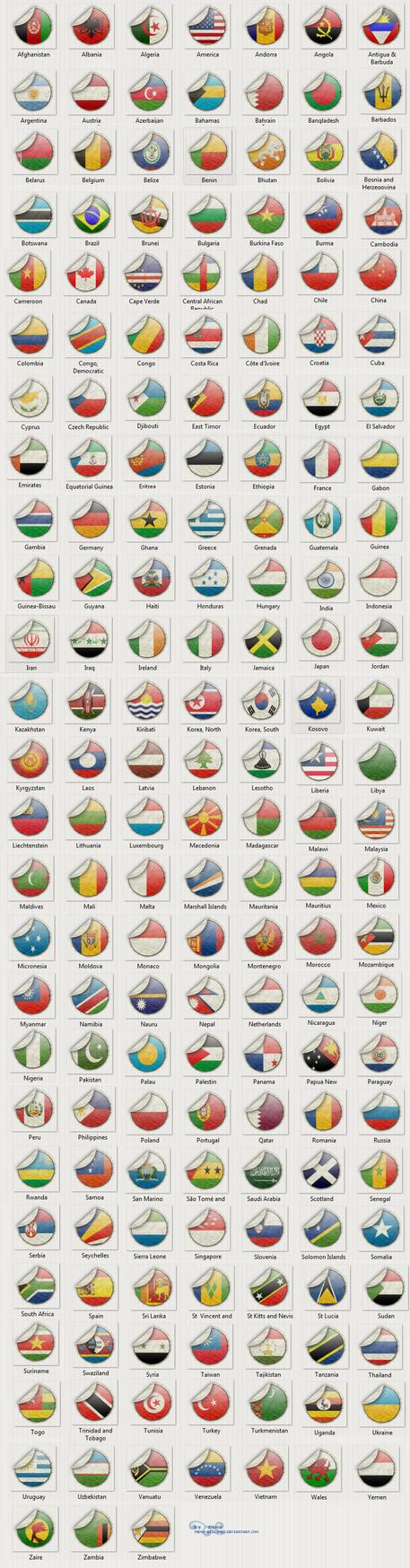 world flags by MEMO-DESIGNER