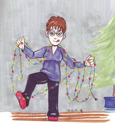 Animated garlands