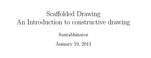 Scaffolded Drawing