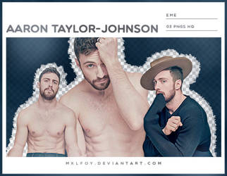 Pack png 112 // Aaron Taylor-Johnson by mxlfoy