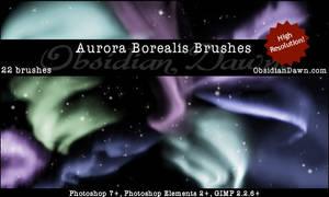Aurora Borealis GIMP Brushes