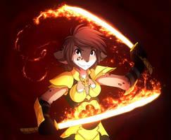 Dragonfire Kathrin [Spots] - ANIMATED! by LightningStrike77