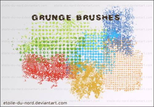 grunge brushes by Etoile-du-nord