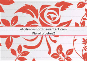 Floral Brushes 2 by Etoile-du-nord