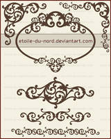 decorative brushes2 by Etoile-du-nord