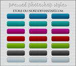 pressed photoshop styles by Etoile-du-nord