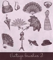 vintage brushes 2 by Etoile-du-nord