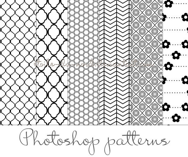 Patterns By Photoshop Deviantart – Migliori Pagine da Colorare