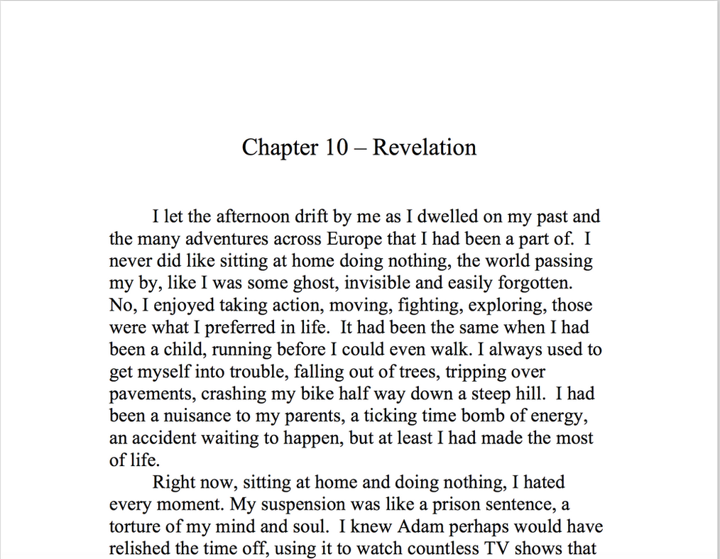 Memoirs of an Elemental - Chapter 10 Revelation by Meterious