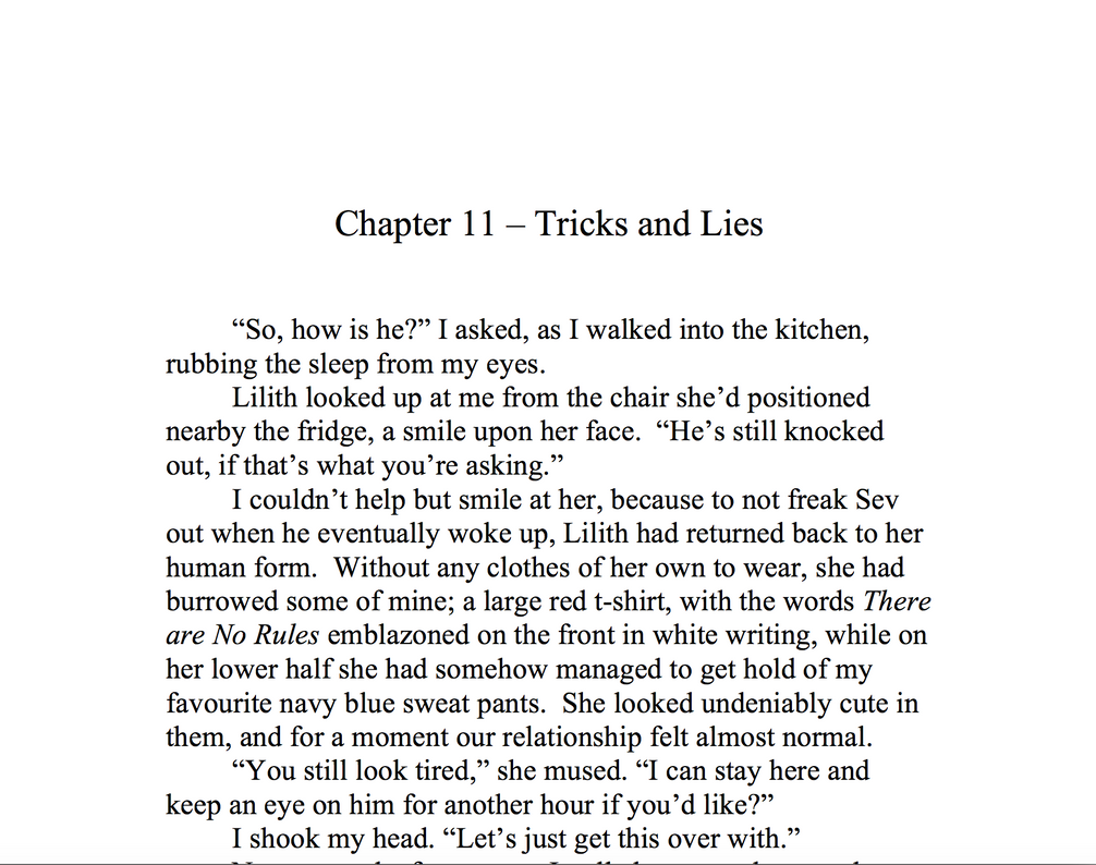 Chapter 11 - Tricks and Lies by Meterious