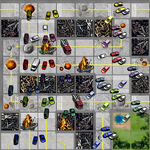 For Bluepencil Tiles with Cars