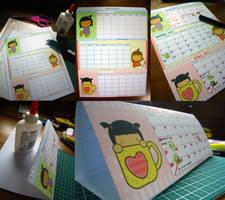 Pigtails Calendar