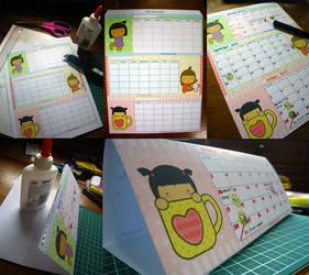 Pigtails Calendar by jazgirl