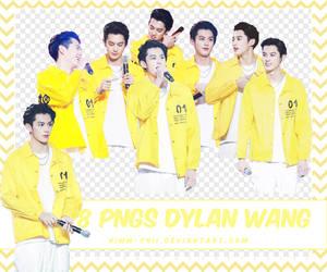 PACK PNGS DYLAN WANG / VUONG HAC DE / WANG HE DI by Kimm-Chii