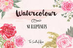Watercolour Brushes - The Smell of Roses
