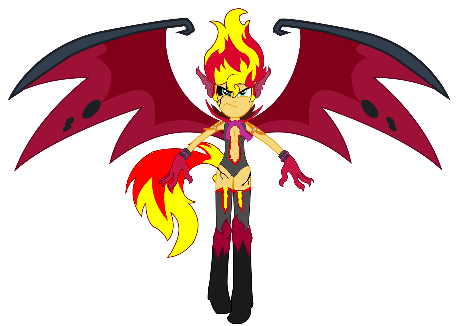 My little pony equestria girls sunset shimmer demon - photo#6