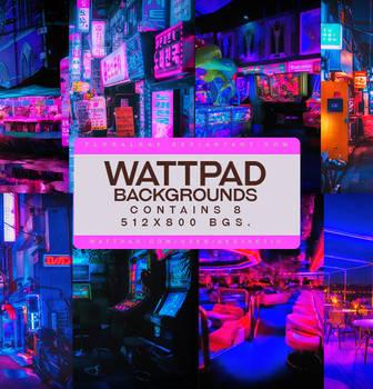 Wattpad Background Pack #2: Neon by floralbae
