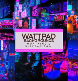 Wattpad Background Pack #2: Neon