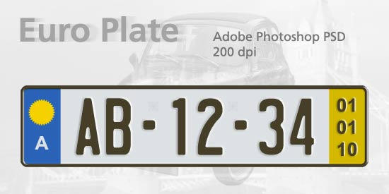 euro plate template by spentoggle on deviantart