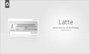 Latte for CD Art Display