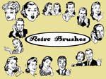 retro brushes