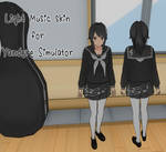 Yandere Simulator Light Music Club Skin
