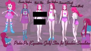 Yandere Simulator Pinkie Pie MLP EG Skin