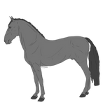 F2U horse PRE base