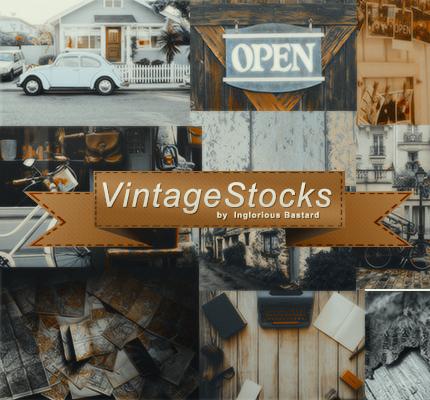 #01 Vintage Stock Pack by inglorious-bastard