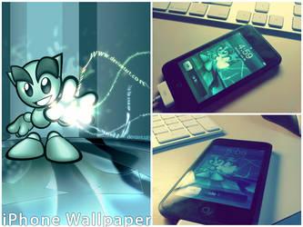 Fella iPhone Wallpaper by spud100