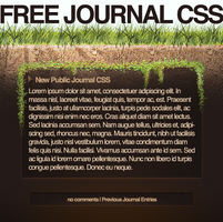 Grounded CSS