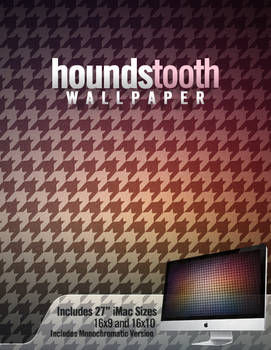 Houndstooth - Wallpaper