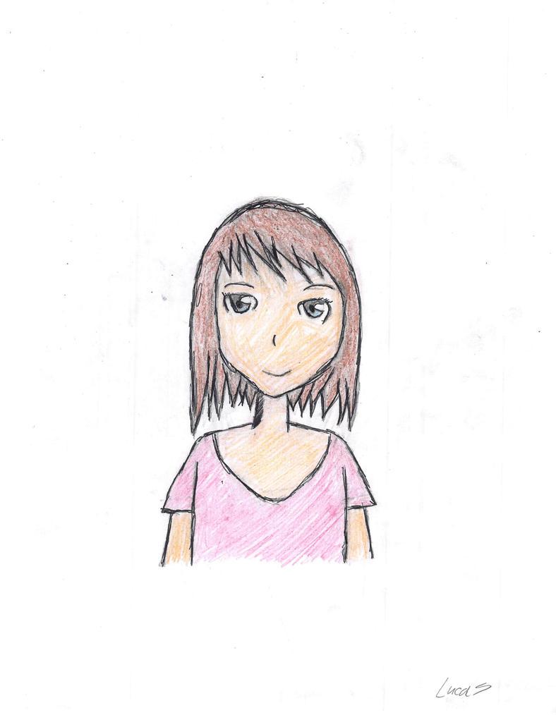 Anime Girl by JELLYFISH223