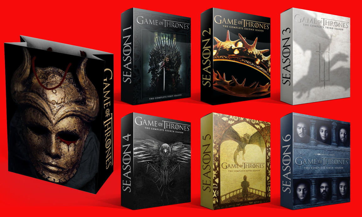 Game of Thrones Box Set Folder Icons by Drac-69
