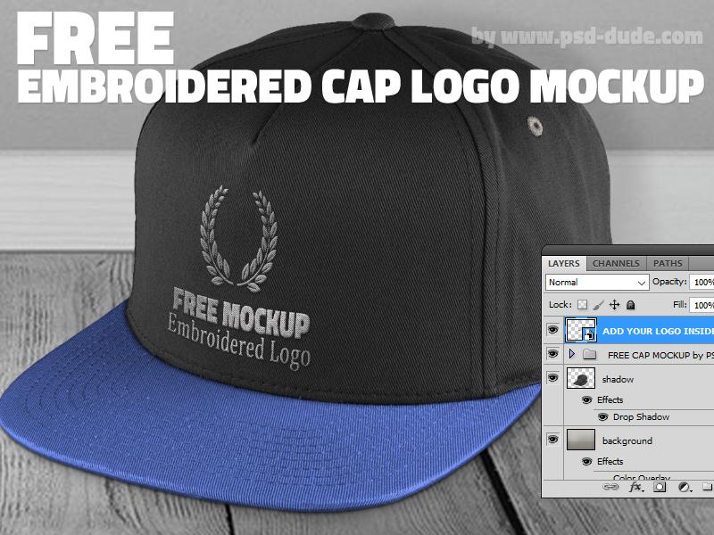 free cap mockup psd by psddude on deviantart